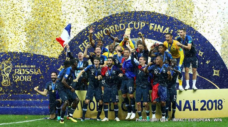 World cup 2018: The Blue ones gained the final
