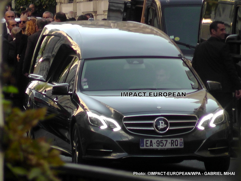 Funeral of Charles Aznavour
