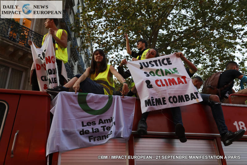 A Saturday of mobilization in France: climate, yellow vests and angry pensions